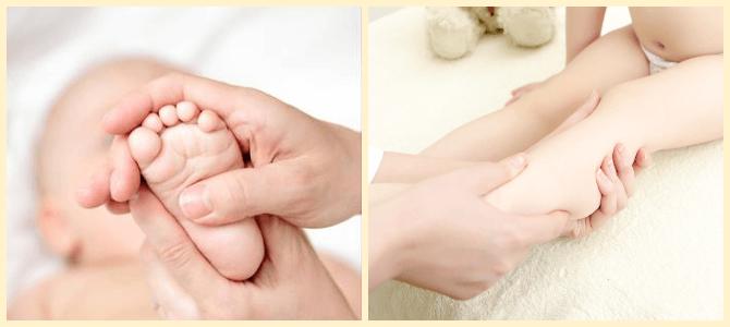 детский массаж лодыжек при вальгусной деформации