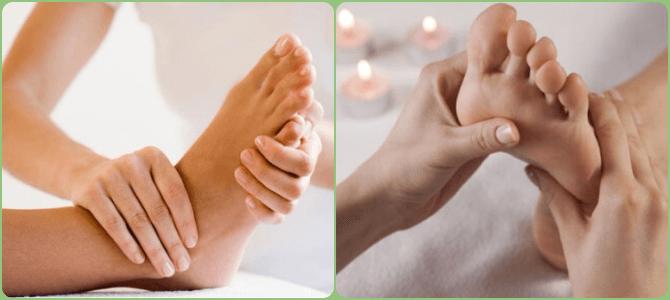 массаж при вальгусе