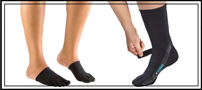 Как действуют носочки при вальгусной деформации