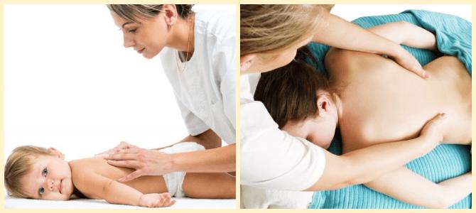 детский массаж спины при вальгусной деформации