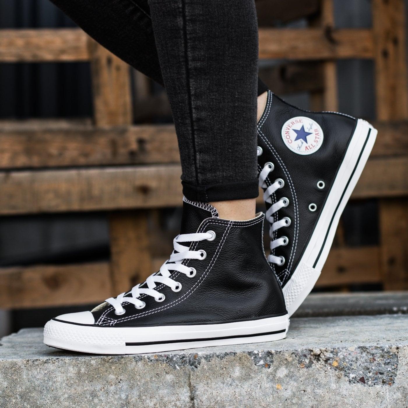 Кожаные кроссовки Converse? Почему бы и нет!