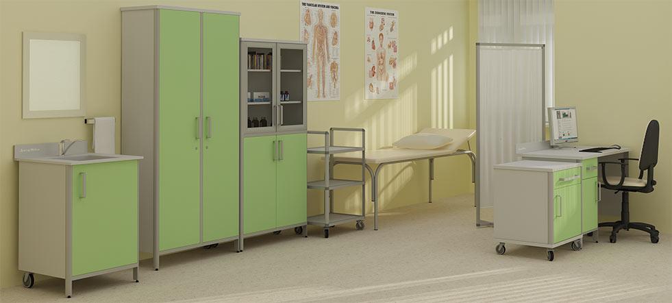 Медицинская мебель для кабинета врача - как выбрать лучшую?