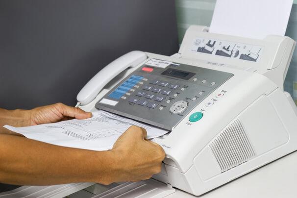 Преимущества отправки факсов